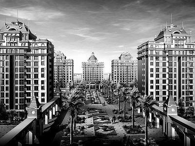 """公司成立至今,一直致力于欧式建筑的研发和建造,已经开发的项目有,""""科图片"""