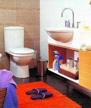 出绝招让二手房的卫生间旧貌换新颜(组图)