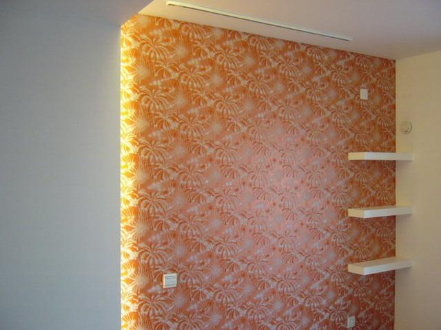 cbd总部简欧式 卧室背景墙 夜晚发光的壁纸  cbd总部简欧式      所属