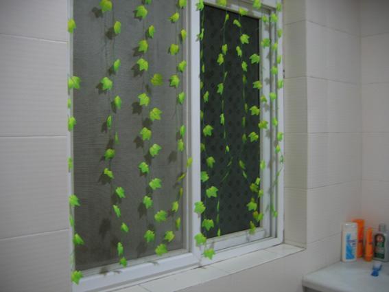 幼儿园走廊窗户布置