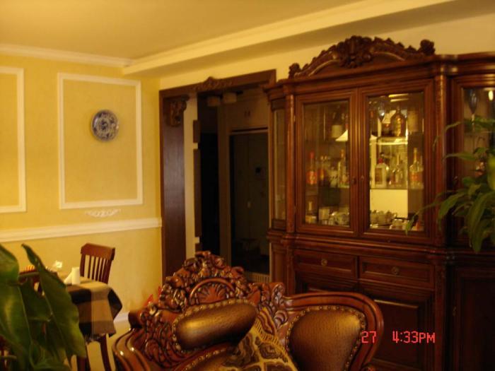 作品名称:欧式复古 客厅垭口图片