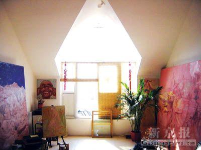 欧式古典彩色异形吊顶