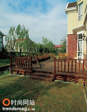 图文:庭院设计的十大原则--欧式庭院