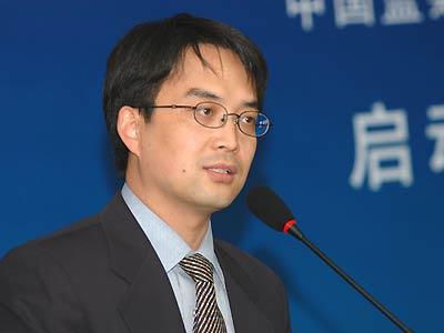图文:2005中国蓝筹地产年度评选-主持人吕尚春