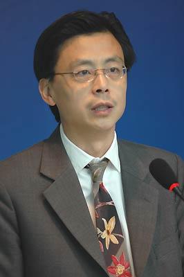 图文:2005中国蓝筹地产年度评选-赵昊致辞