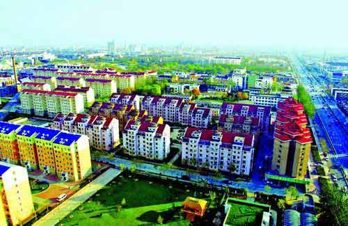 图文:河北廊坊市成熟居住区