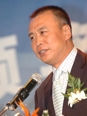 图文:蓝筹地产颁奖-北京万科总经理周卫军