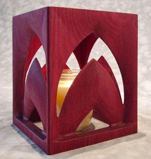 造型别致的木制家具--浪漫烛光(图)