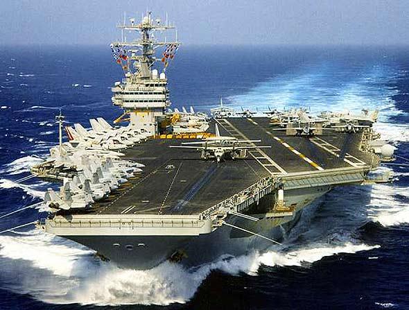 """美国""""尼米兹""""号(CVN-68)航空母舰(附图)"""