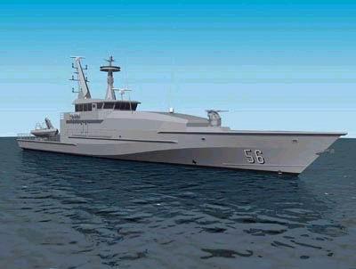 澳大利亚海军首艘新型巡逻艇即将开始建造(图)