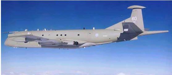 """将显著增强英国皇家空军(raf)""""猎迷(nimrod)""""r1飞机"""