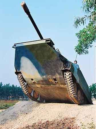 大陆组建两栖机械化师台军方高度紧张(组图)