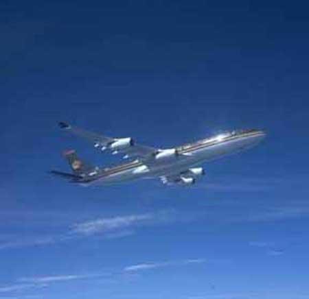 空客a340300座位图_这架空客a340飞机载有200名乘客;