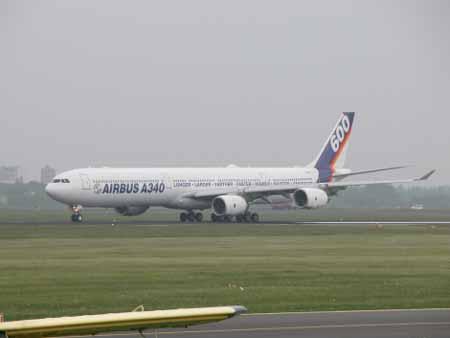 资料图片:空中客车a340-600飞机(24)