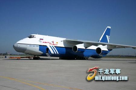 俄罗斯安-124重型运输机发射卫星优势多(组图)