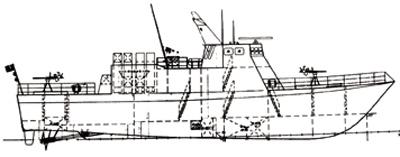 台湾自行研制光华六号隐身导弹艇入役(组图)下