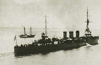 老舰的苦命生涯:日本天龙级轻巡洋舰(组图)下