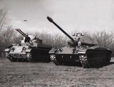 冷战铁战士――M41沃克猛犬轻型坦克(组图)一