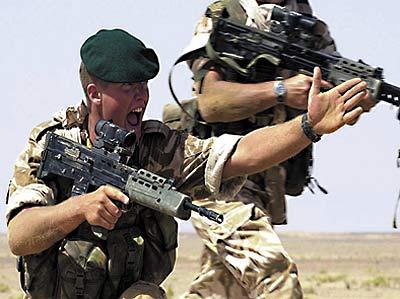 英王冠上的雄狮:英国皇家海军陆战队(组图)六