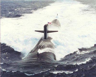 美军拟向关岛部署休斯敦号核攻击潜艇(组图)