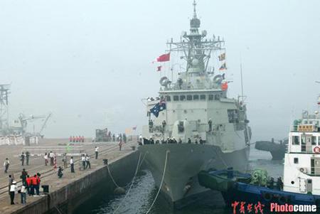 中国澳大利亚海军将首次举行海上联合搜救演习