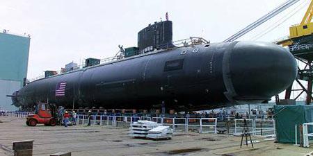 美最新型核攻击潜艇弗吉尼亚号试航亲历记(图)