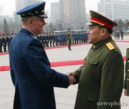 我军总参谋长与美军政高官会晤讨论台湾等问题