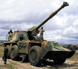 非洲的愤怒:南非G型火炮家族(组图)上