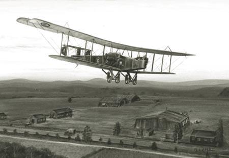 英国皇家空军之父:休-M-特伦查德(组图)