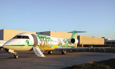 庞巴迪CRJ200飞机及东航云南分公司资料(组图)