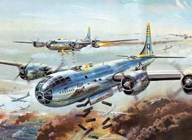 美国陆军第20航空队史-B-29出击(组图)