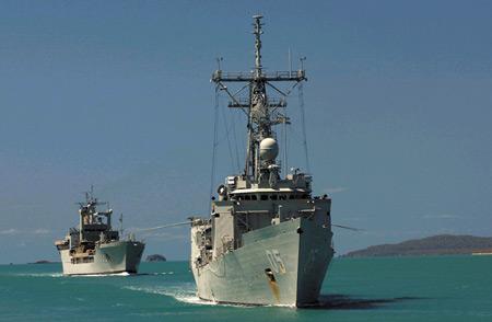 展望21世纪走向自我武装的澳大利亚海军(组图)