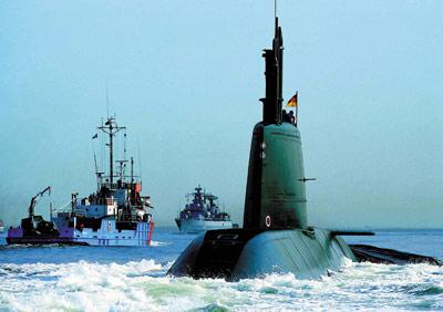 以色列海军21世纪水下作战主力-海豚级常规潜艇