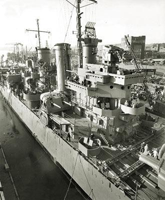 美国损失的最后一艘轻巡洋舰:海伦娜号小史
