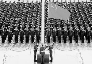 军旗辉耀白莲花――驻澳部队进驻澳门5周年风采录