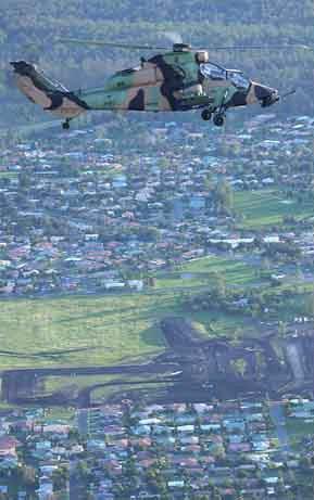 澳大利亚陆军接收首批两架虎式直升机(附图)