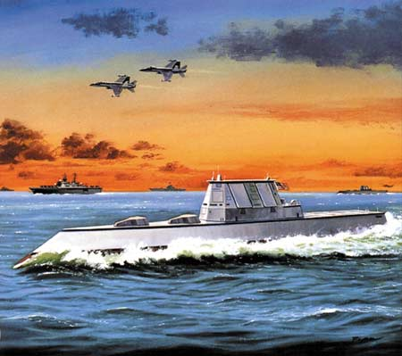 美军水面作战力量转型远景:2025未来舰队报告