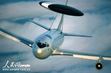 北约将改进17架E-3A型预警机的任务计算机(图)