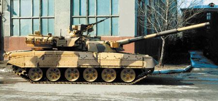 莫洛佐夫设计局T系列主战坦克升级方案下(组图)