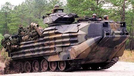 美联合防务工业公司为台军升级AAV7A1两栖突击车