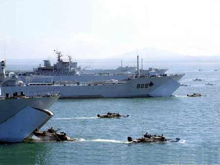 美智库:解放军有能力延缓美军援台(组图)