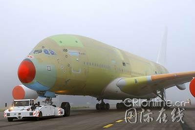 图文:空中客车将推出全球最大民航客机_新浪军