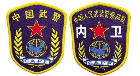 武警部队新式臂章-武警统一佩戴新式臂章胸标含义及使用范围图片