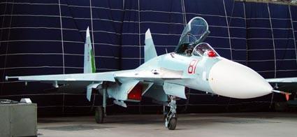 俄新型苏-27CM战机在远东地区进行最后试验(图)