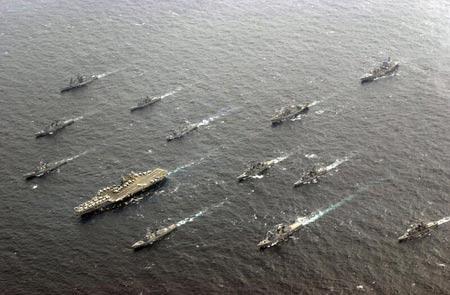 前苏联攻击美尼米兹级航母编队战法(组图)