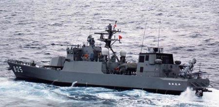 海上自卫队添新兵:隼级导弹艇成群结队(组图)