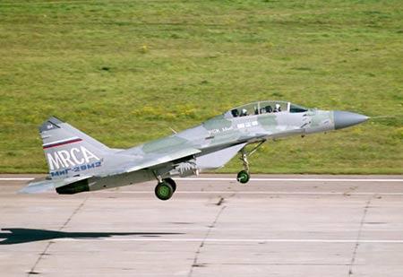 俄米格-29M战机竞标印度空军新型战机计划(图)