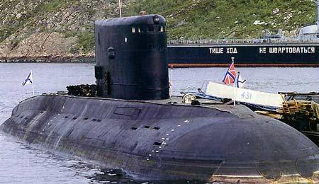 俄将改造第4艘印度海军的877EKM型柴电潜艇