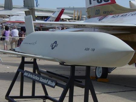 美国空军继续实施JASSM导弹研制项目(组图)