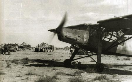 战场中的精灵――德国Fi156白鹳式飞机小史(图2)
